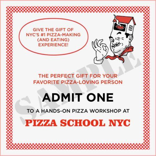 New York City Holiday Gift Ideas Pizza Classes Manhattan